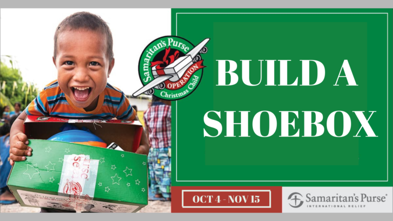Operation Christmas Child Build a Shoebox Online